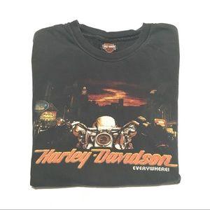 Harley Davidson Everywhere Vintage Style T-Shirt